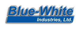 Blue-White Logo with Drop Shawdow