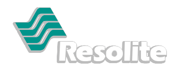 Resolite Logo with Drop Shawdow